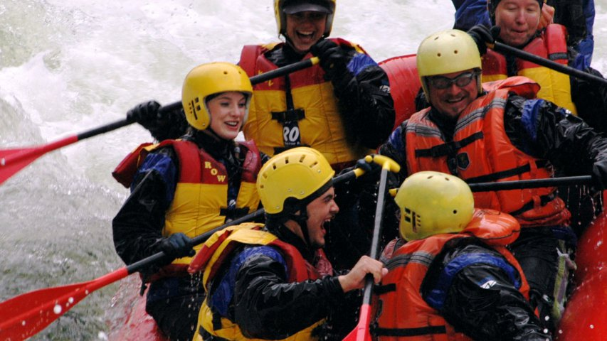 Lochsa River White Water Rafting