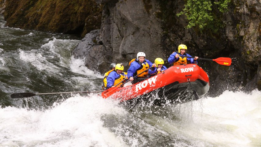 The Super - Lochsa River Rafting