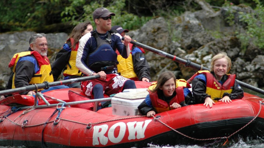 Rafting the Selway