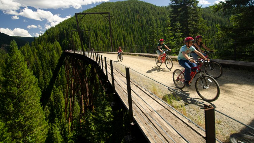 biking tours in idaho