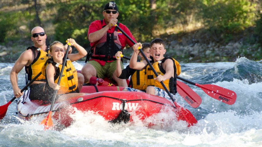 Whitewater Rafting in Spokane